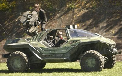 halo warthog jeep halo warthog goes for a test drive