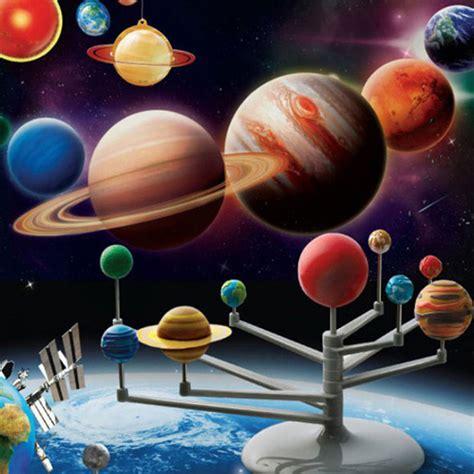 solar system project kits solar system planetarium model kit astronomy science project diy gift de ebay