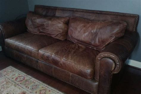 Weathered Leather Sofa Benefits Of Distressed Leather Sofa Worn Leather Sofa