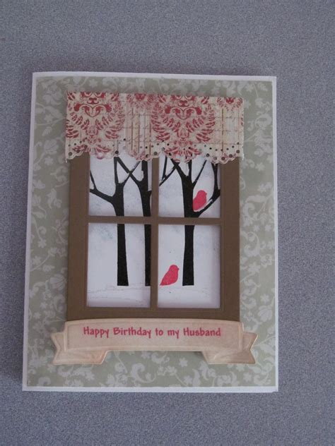 Handmade Cards For Husband - creative corner studio happy birthday hubby