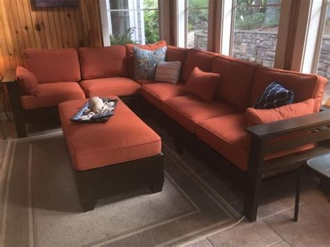 do it yourself ottoman diy outdoor sectional from 2x4s outdoor furniture