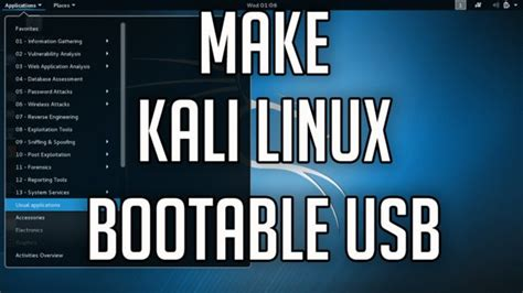 How To Make A Bootable Kali Linux Usb Flash Drive Pendrive | how to make a bootable kali linux 2 0 usb all