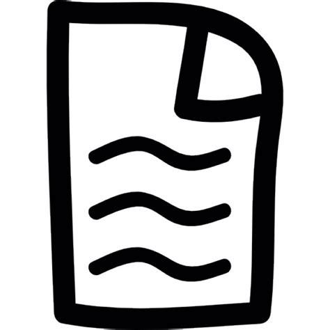 testo mano a mano pagina di testo disegnare a mano scaricare icone gratis