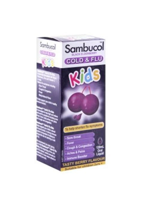 Dijamin Sambucol Cold And Flu sambucol cold and flu liquid