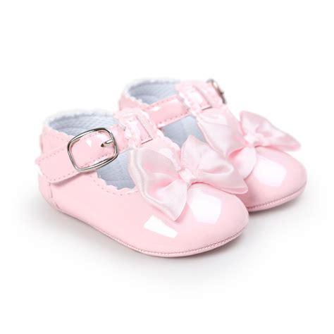 Prewalker Newborn 2 newborn baby sneakers bow non slip crib shoes soft