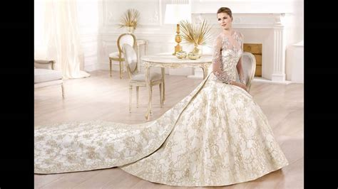 imagenes de vestidos de novia los mas lindos los vestidos de novia mas bonitos del mundo youtube