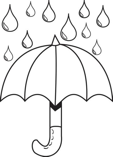 preschool coloring pages rain drudge report co best 25 rain crafts ideas on pinterest weather crafts