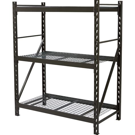 commercial metal shelving strongway steel shelving 60in w x 30in d x 72in h 3