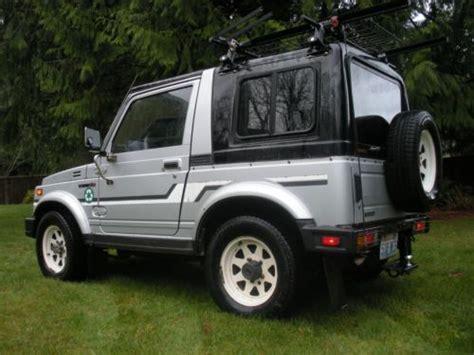 Suzuki Sidekick Hardtop For Sale Sell Used Suzuki Samurai Jx Clean Removable Two