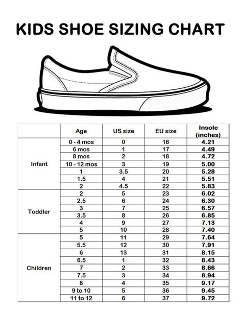 uk kid shoe size for shoes a collection of s fashion ideas to