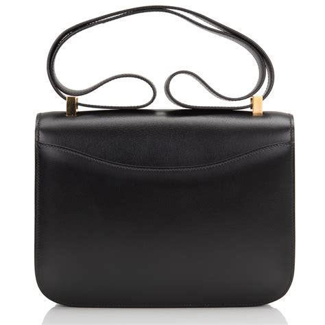 Hermes Contansce Box Semi Premium hermes constance vintage bag 23cm black box gold hardware world s best