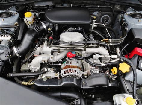 how does a cars engine work 2004 subaru outback lane departure warning file 2006 subaru legacy b4 2 0i ej20 sohc engine jpg wikimedia commons