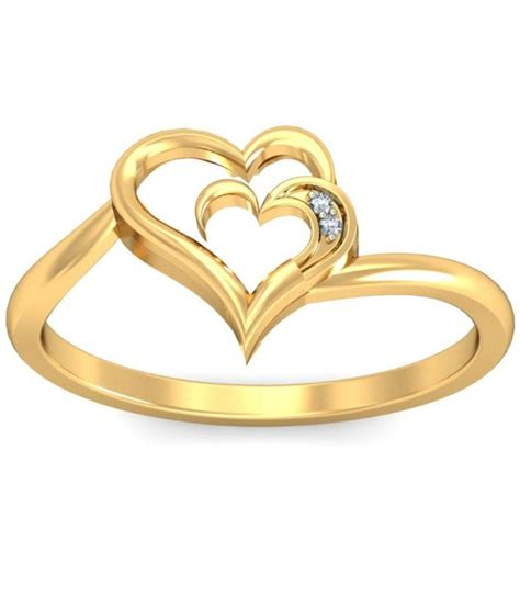 gold ring pic demira jewels 14kt gold ring 100 certified buy demira