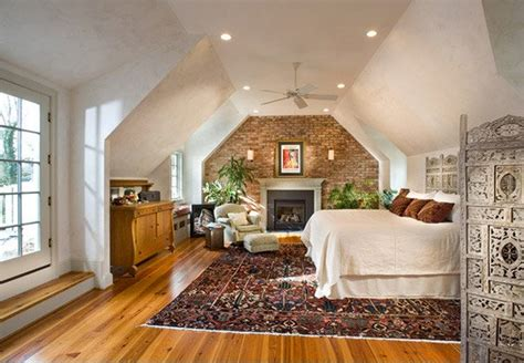 bedrooms  exposed brick walls home design lover