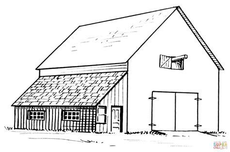 scheune zeichnung ausmalbild scheune und anbau ausmalbilder kostenlos zum