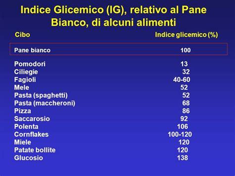 indice glicemico alimenti diabete indice glicemico cos e ppt scaricare