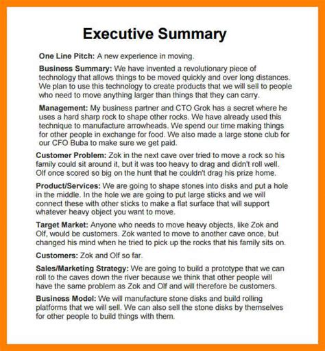 executive summary template report 28 images 31