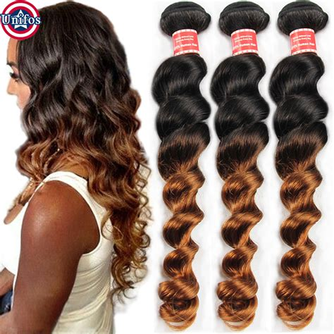 loose wave braiding hair peruvian ombre hair extensions two tone human hair weaves