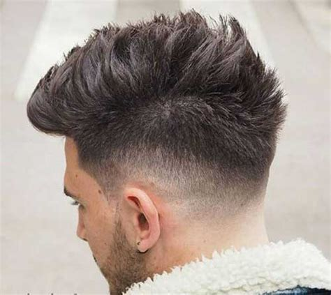 tapered hairstyles coolest mens tapered haircut mens hairstyles 2017