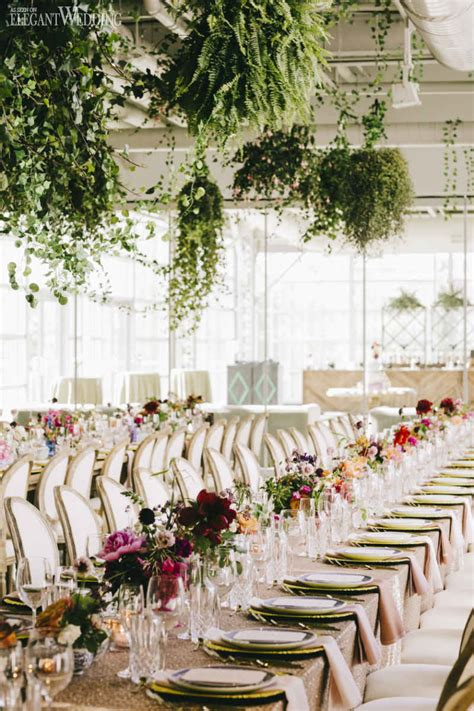 modern indoor garden wedding in montreal elegantwedding ca best wedding rentals in montreal elegantwedding ca
