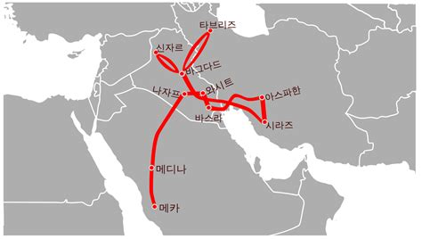 travel route map file travel route of ibn battuta from mecca to baghdad ko
