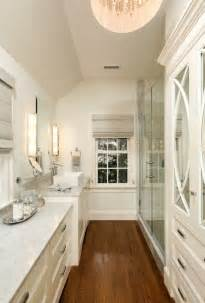 Small Master Bathrooms by Small Master Bathroom Layout Of Our Long Narrow Space