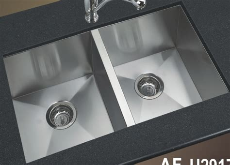 square sink kitchen stainless steel kitchen sink square by afa sinkware canada