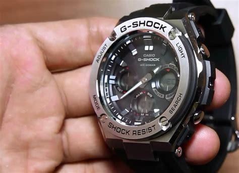 Gshock Gst S110 1adr Original casio g shock g steel gst s110 1a indowatch co id