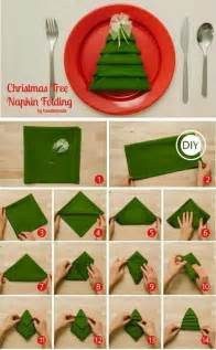 how to fold christmas tree napkins pictures photos and