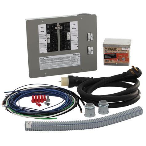 generac 50 generator transfer switch kit for 12 16
