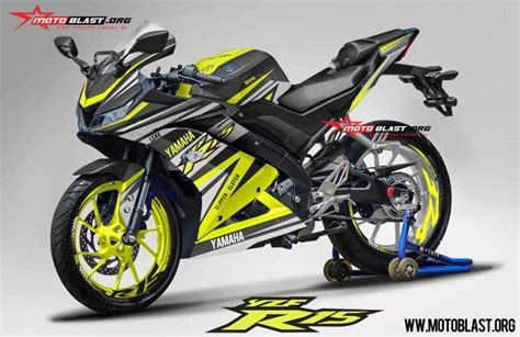 Yamaha 15 Ps Aufkleber by India Bound Yamaha R15 V3 Rendered With Racing Decals