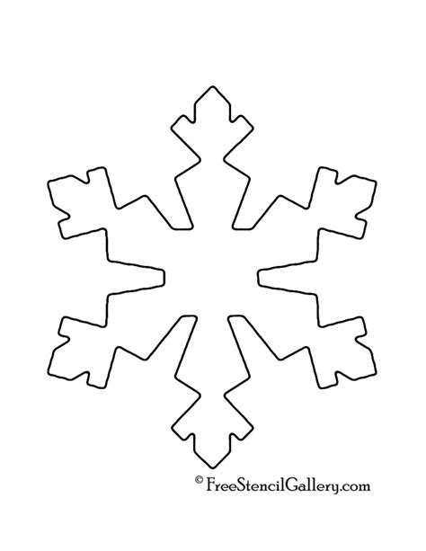 printable snowflake templates cut out 10 best images of free printable snowflake cut outs