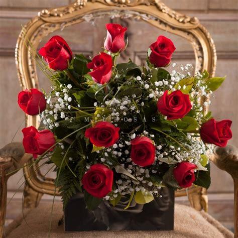 imagenes de flores naturales gratis ramo de rosas frescas rojas