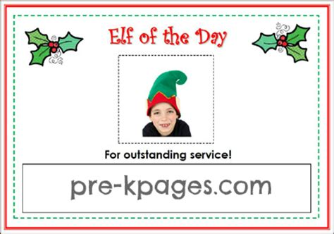 free printable elf name tags dramatic play holiday wrapping center