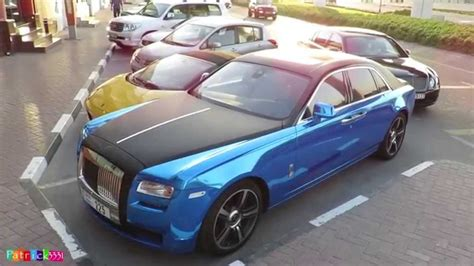 rolls royce dark blue chrome blue frozen black rolls royce ghost youtube