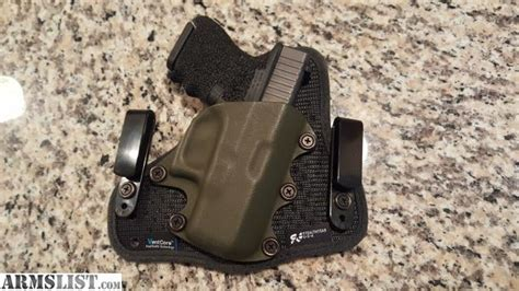 comfortable iwb holster armslist for sale stealthgear iwb glock 26