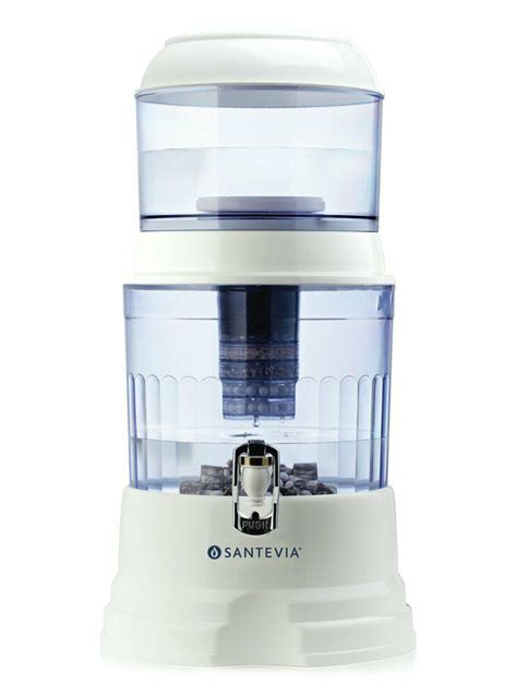 best counter water filter santevia counter top water system santevia 1 kit ebay