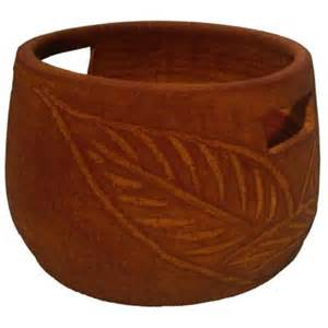 home depot clay pots 15 in clay anadel flower pot 363198a the home depot