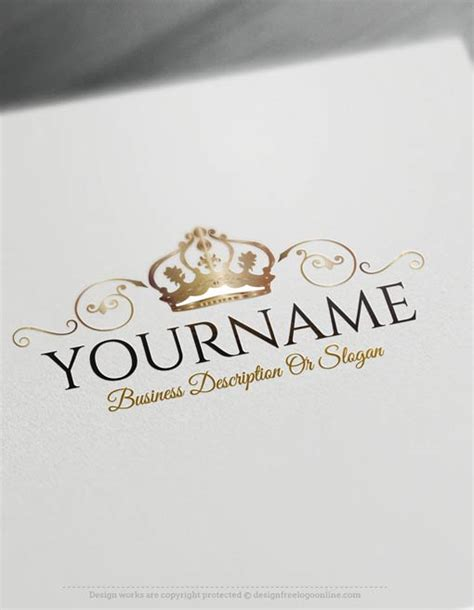 logo maker free for business card template create a logo free crest crown logo templates