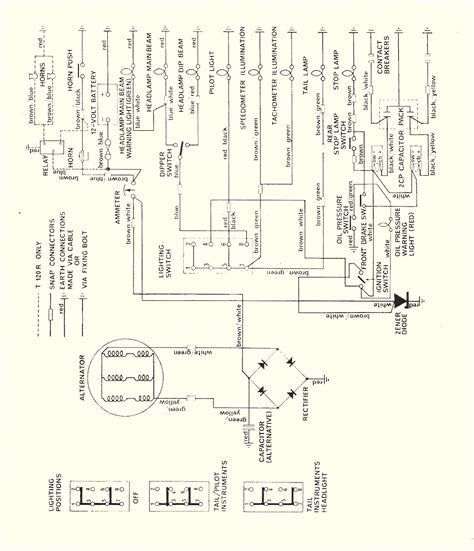 tr6 wiring diagram for 73 wiring diagram schemes