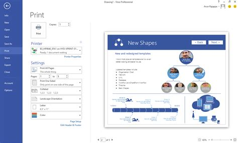 how to print from visio printing in visio made easier office blogs