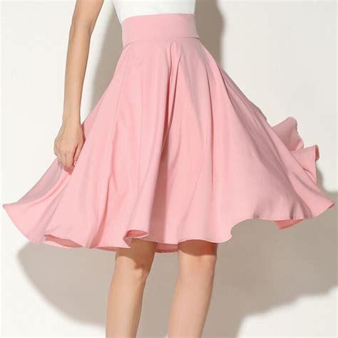 white swing skirt women summer high waist tutu skirts womens plus size midi