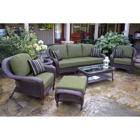 outdoor conversation sets with ottomans patio conversation set with ottoman patio conversation