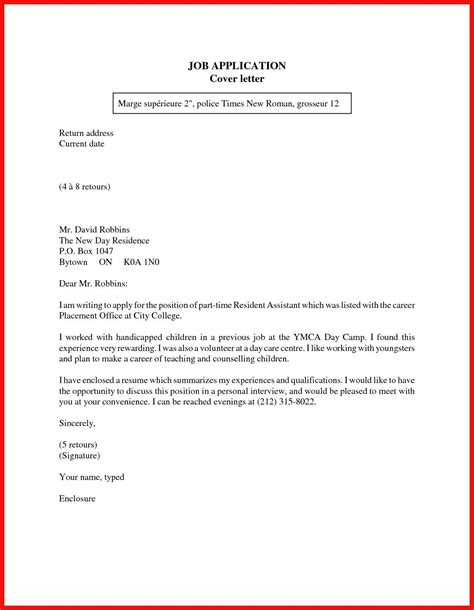 Exles Of Cover Letter For Resume by Cover Letter For On Cus 28 Images Exles Of Resumes How