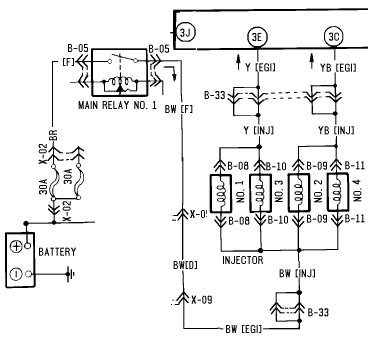 ignition wiring diagram for mazda protege ignition