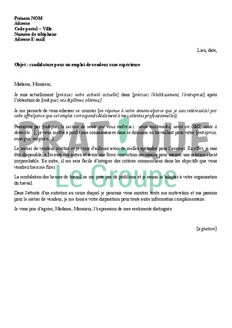 Lettre De Motivation Vendeuse En Boulangerie Debutant Modele Lettre De Motivation Vendeuse En Boulangerie Debutant Document