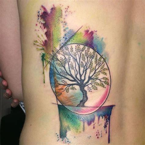 tattoo maker in andheri east small watercolor tree tattoo google search tattoos