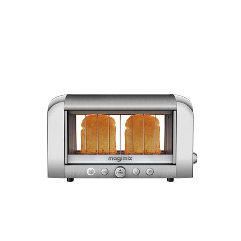 Grille Magimix by Magimix Grille Le Toaster Vision Chrome Mat Les
