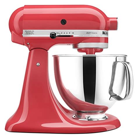 amazon kitchenaid kitchenaid ksm150pswm artisan series 5 qt stand mixer