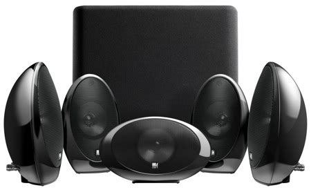 kef kht home theater speaker system announced